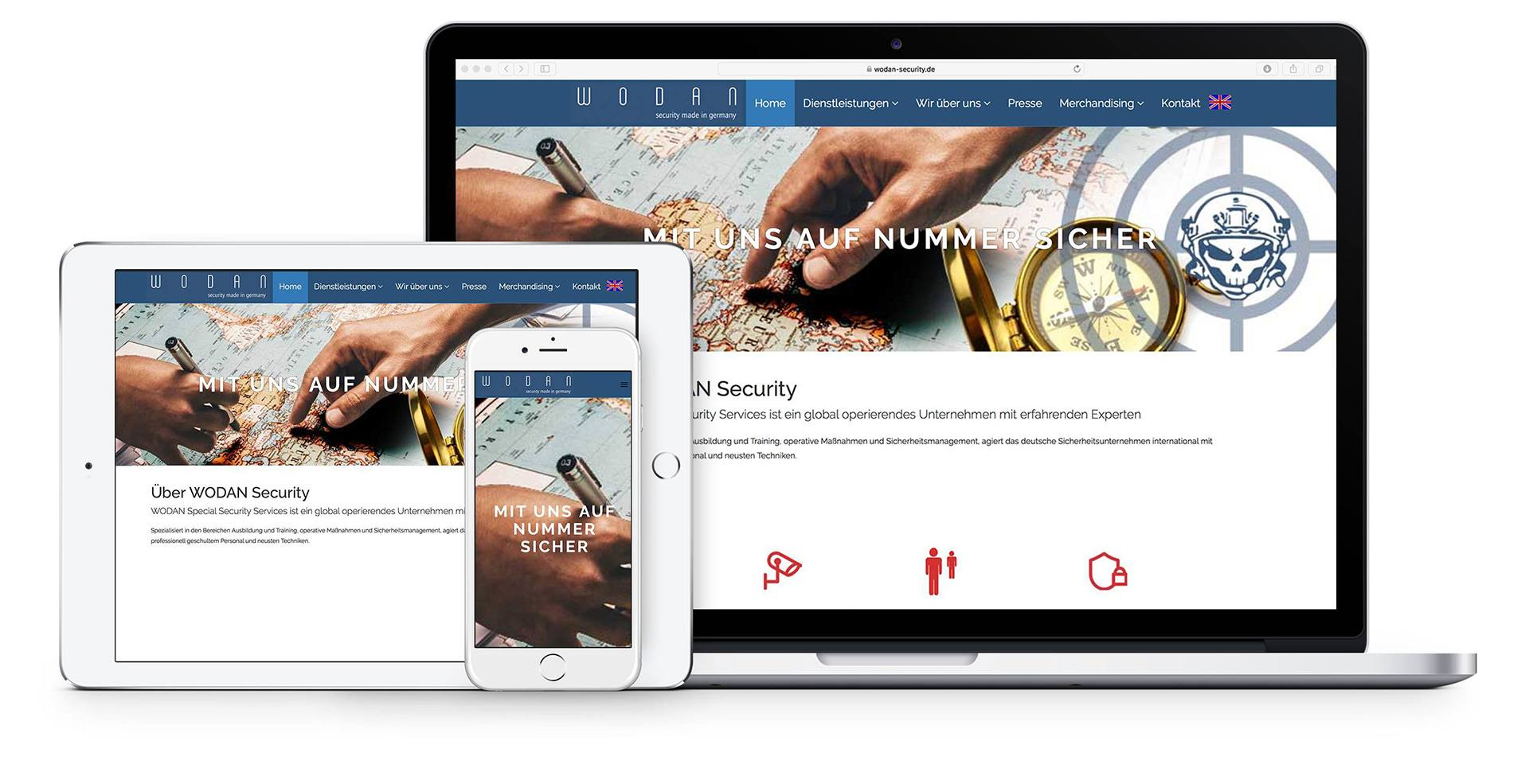 Website Referenz - Wodan Security